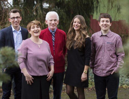 Weihnachtsgrüße von Familie Steinhart